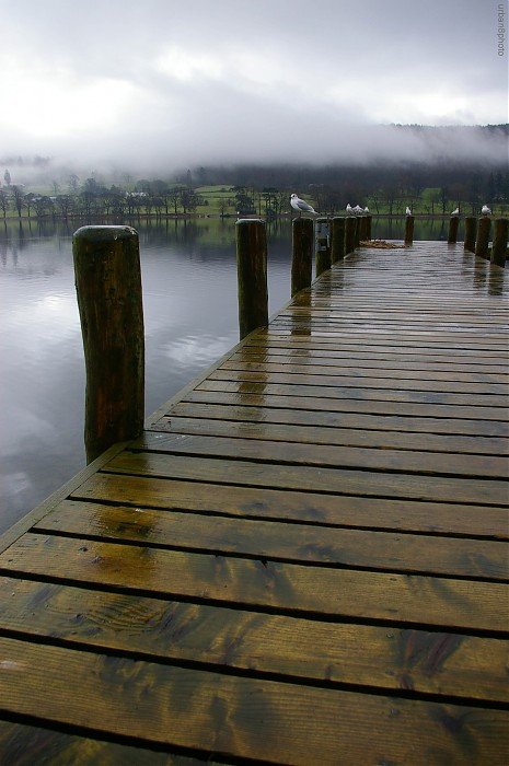 photoblog image Coniston Lake jetty